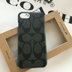 Signature Coated Canvas Case For iPhone 8/7 F27296